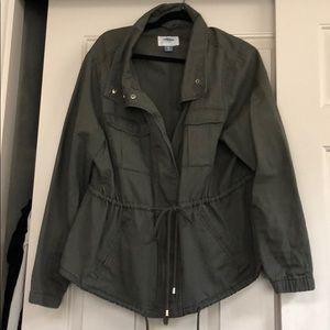 Green jacket XL old navy